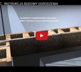 betonzaun fechten hersteller stangen bl cke und steine joniec. Black Bedroom Furniture Sets. Home Design Ideas